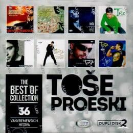 TOŠE PROESKI - THE BEST OF COLLECTION (2018) - Toše Proeski